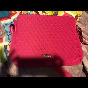 Vera Bradley Pink Messenger Bag